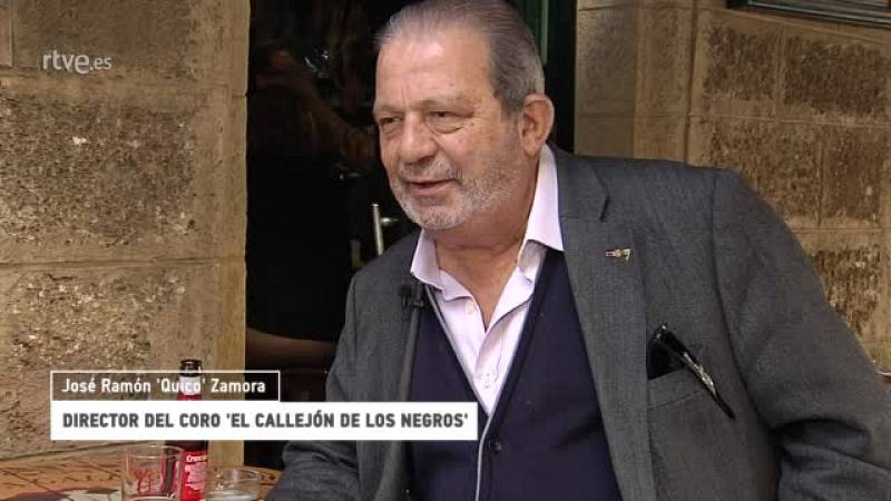 """¿Te Acuerdas? - José Ramón 'Quico' Zamora: """"La chirigota es muy negra"""" - Ver ahora"""