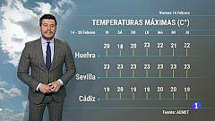 El tiempo en Andalucía - 14/2/2020