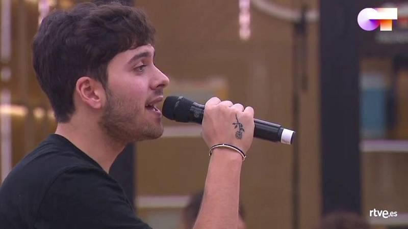 """Javy canta """"Qué sabrá Neruda"""", de Javy Ramírez, en el segundo pase de micros de la Gala 5 de Operación Triunfo 2020"""