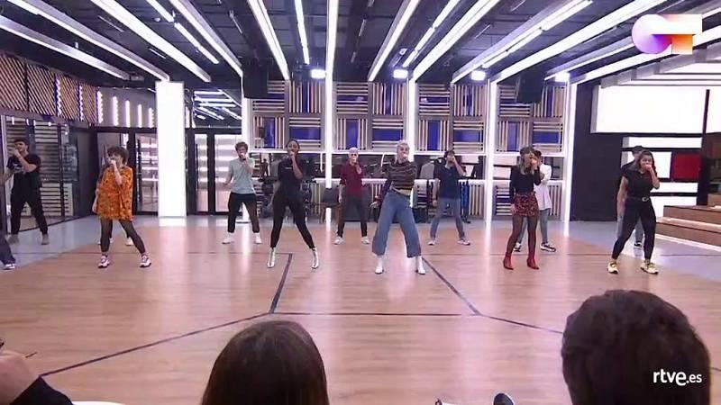 """OT 2020 canta """"Sabor de amor"""" de Danza Invisible en el segundo pase de micros de la Gala 5 de Operación Triunfo 2020"""