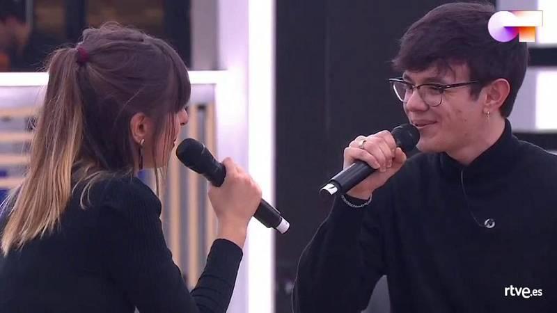 """Flavio y Maialen cantan """"Perfect Day"""" de Lou Reed en el segundo pase de micros de la Gala 5 de Operación Triunfo 2020"""