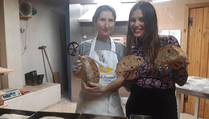 El pan integral es puro arte