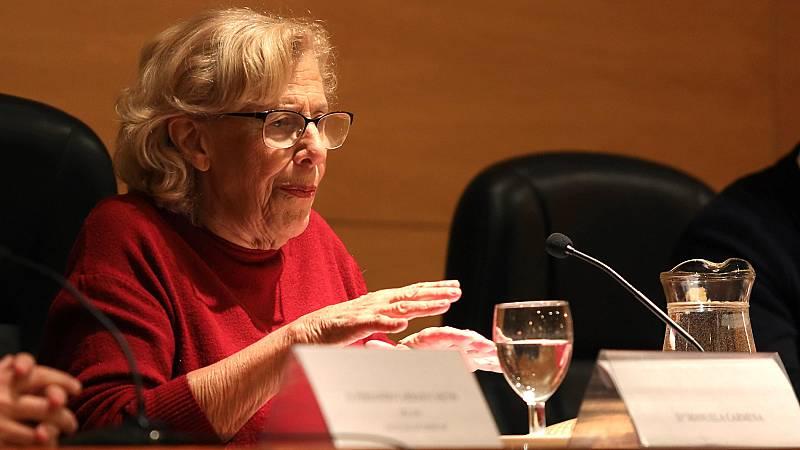 """Carmena dice que """"se equivocó"""" al crear Más Madrid"""