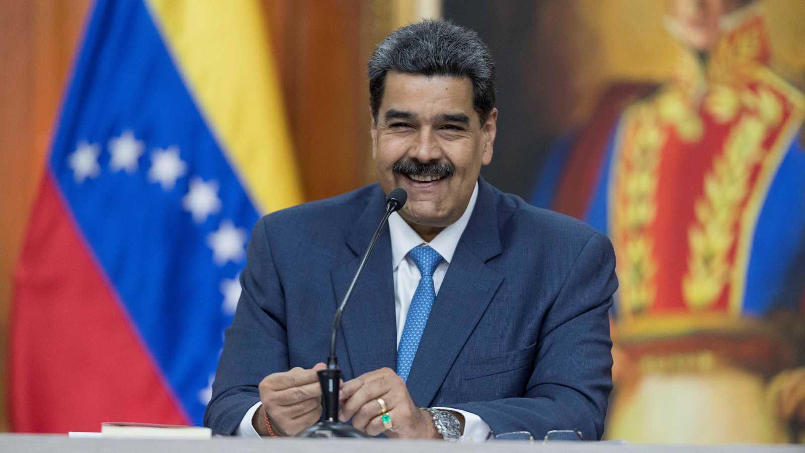 """Maduro dice que la conversación entre su vicepresidenta y Ábalos es """"secreto de Delcy"""""""