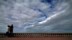 Aumento de las temperaturas y viento fuerte en litoral gallego
