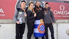 Ander Mirambell, primer campeón de España de skeleton