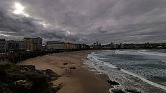 Temperaturas altas para la época y viento fuerte en litoral gallego