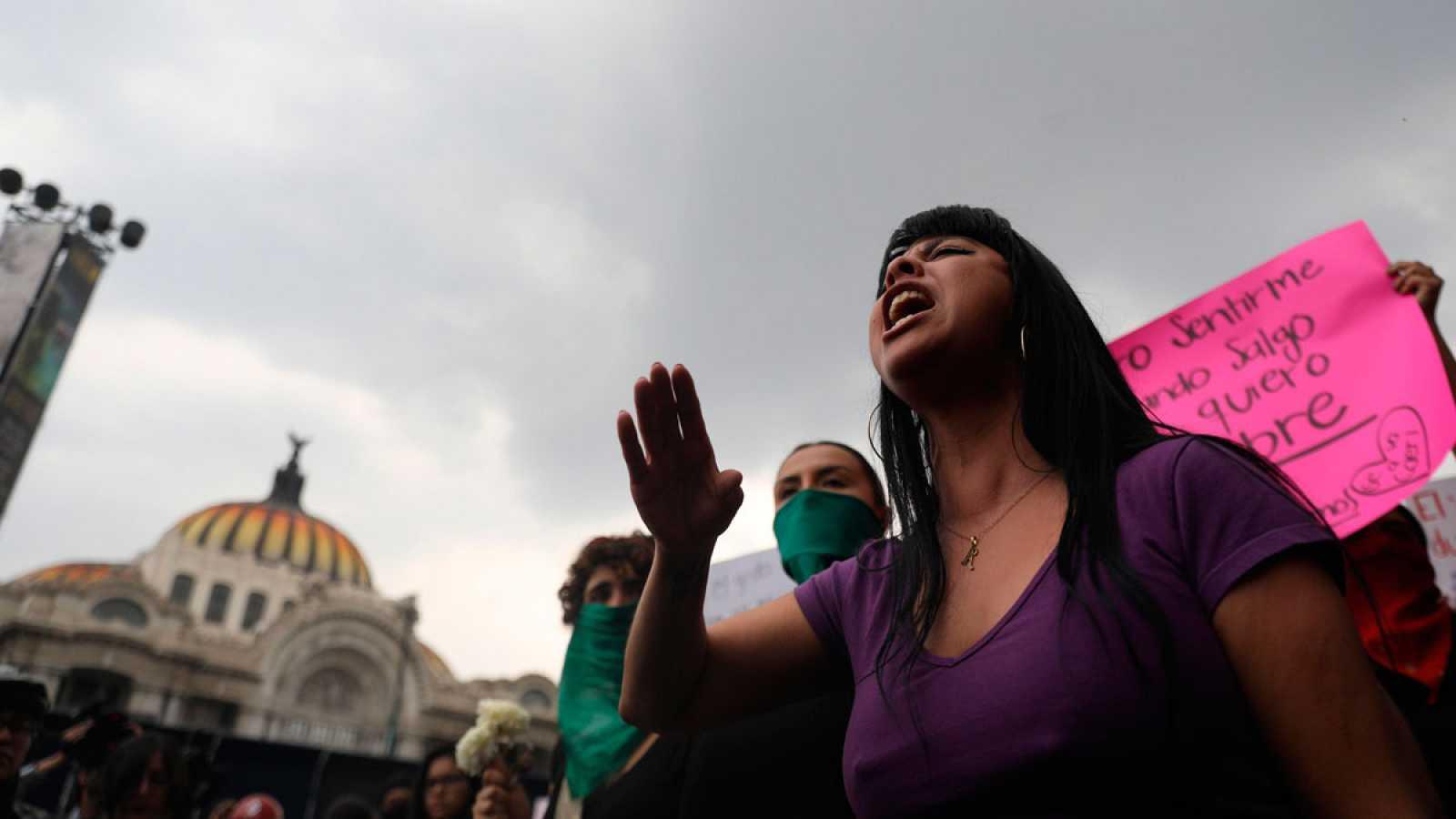 Las mujeres mexicanas piden a su Gobierno que tome medidas para frenar los feminicidios