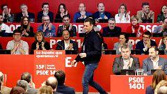 """Sánchez dice ante sus barones que el diálogo en Cataluña no se hará """"en perjuicio"""" de otros territorios"""
