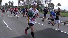 Atletismo - Medio Maratón de Barcelona. Resumen