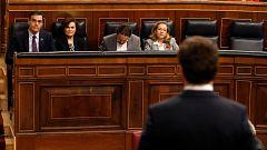 Primera reunión entre Sánchez y Casado tras la formación del Gobierno de coalición PSOE-Podemos