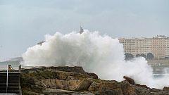 El viento soplará fuerte en el norte de Galicia y en la cordillera Cantábrica y Navarra