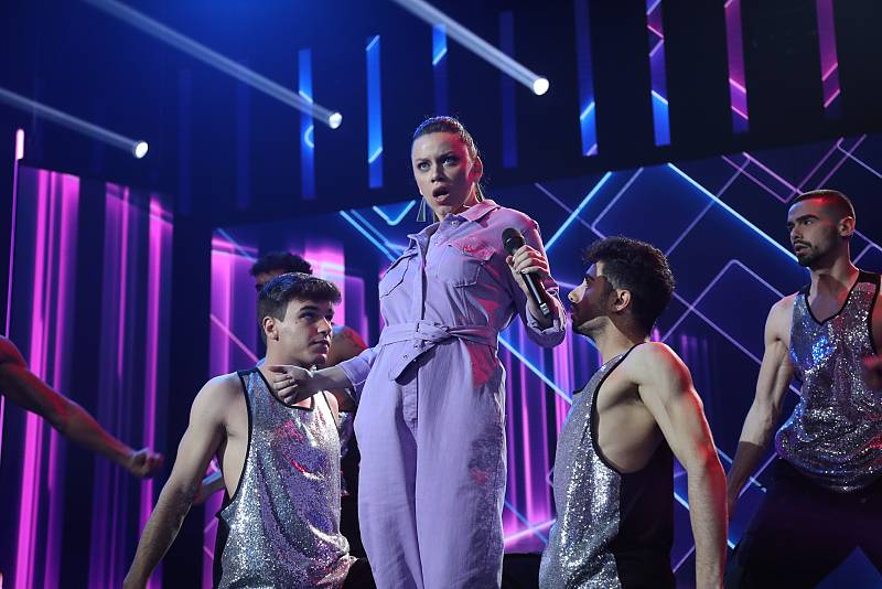 "Eva canta ""I Follow Rivers"" de Lykke Li, en la Gala 5 de Operación Triunfo 2020"