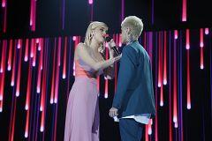 """OT 2020 - Hugo y Samantha cantan """"Vas a quedarte"""", en la Gala 5 de Operación Triunfo 2020"""