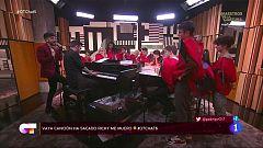 """OT 2020 -  Ricky Merino canta su nuevo single, """"Perfecto"""", en El Chat de Operación Triunfo 2020"""
