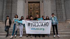 """Parlamento - El Reportaje - """"Érase una voz"""" contra la violencia infantil- 15/02/2020"""