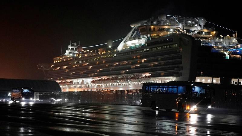 Coronavirus: Estados Unidos evacúa a sus ciudadanos del crucero en cuarentena en Japón