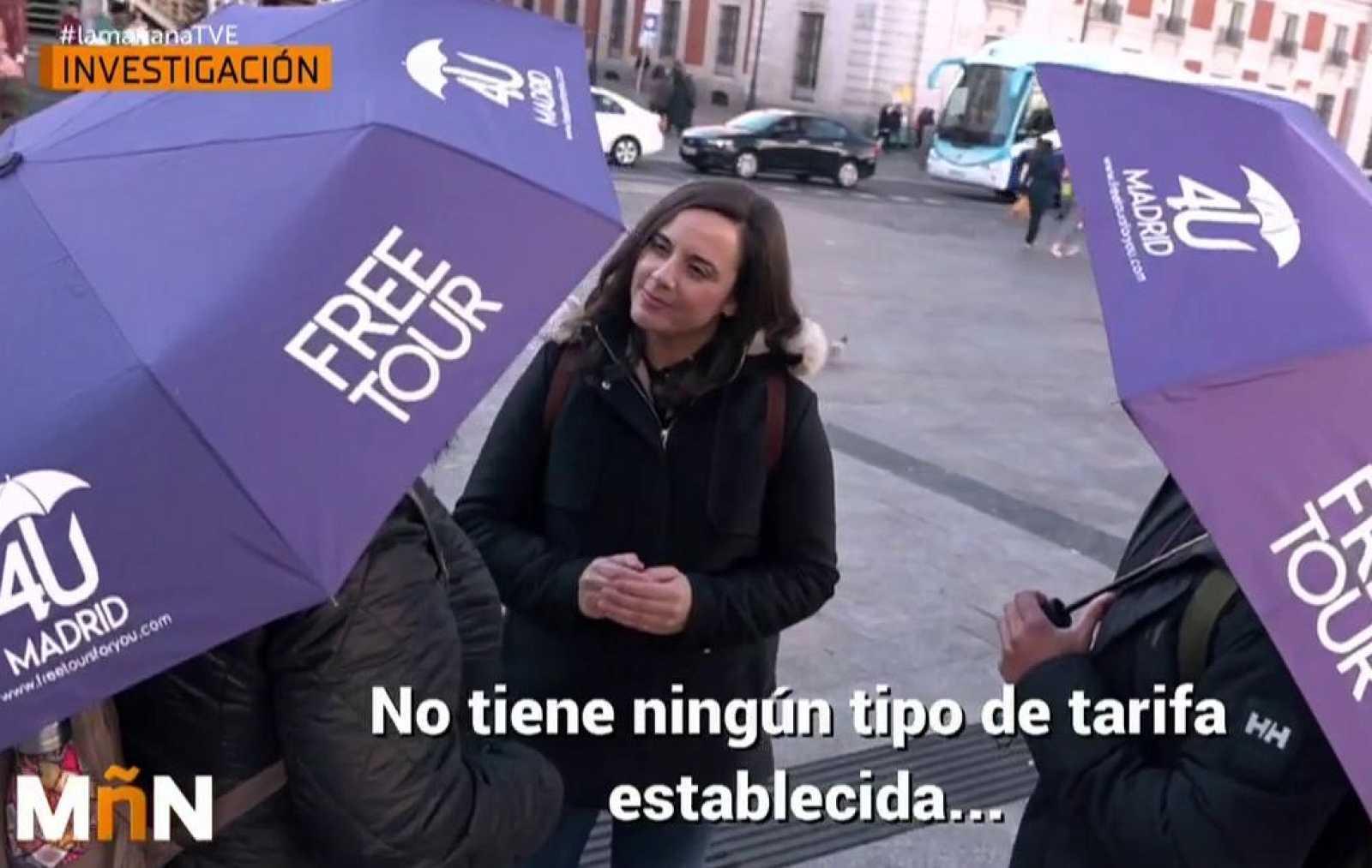 La Mañana - Los guías turísticos ilegales conocidos como free tours proliferan en España