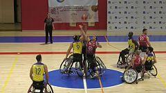 Baloncesto en silla de ruedas - Liga nacional. Resumen - 13/02/20