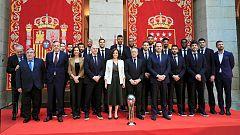 El Real Madrid, homenajeado por el Ayuntamiento y la Comunidad como campeón de Copa