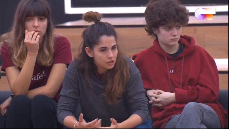 Anajú habla sobre su experiencia en el atentado de Barcelona ante Sor Lucía Caram en su visita a la Academia de Operación Triunfo 2020.