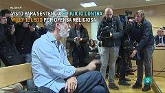 Willy Toledo revindica libertad de expresión