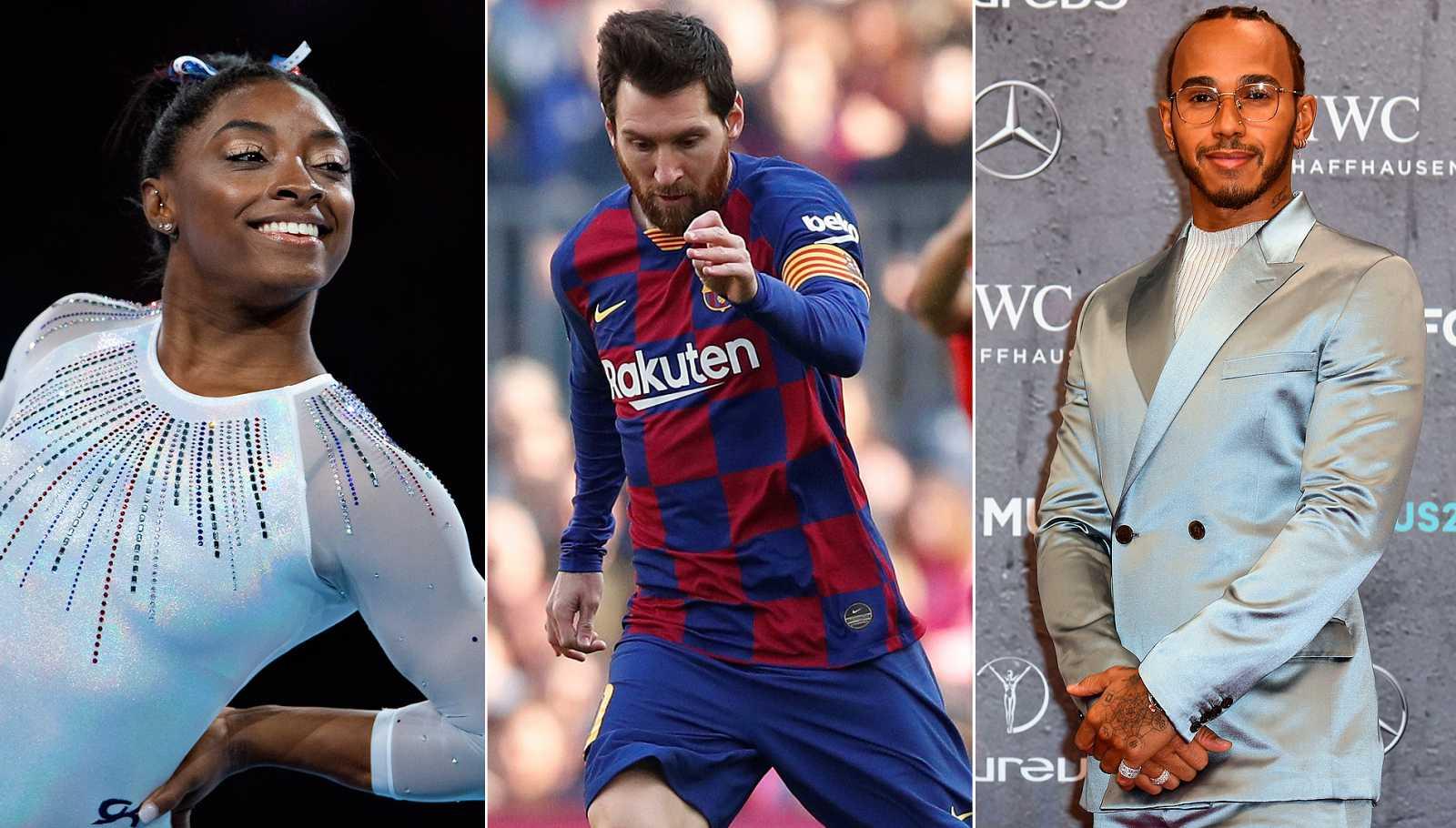 Messi, Biles, Hamilton y el baloncesto español, protagonistas de los Laureus