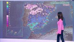 Descenso notable de las temperaturas en el área mediterránea