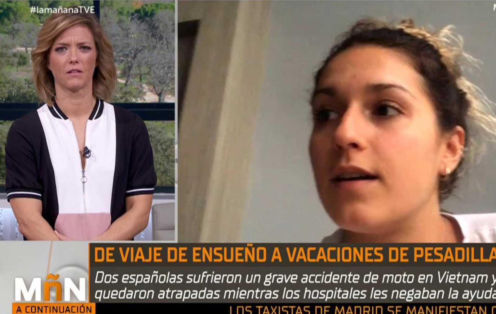 La Mañana - Videollamada de María Valverde y Noelia Traid