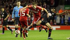 Atleti y Liverpool reeditan este martes las semifinales de Europa Legue de 2010