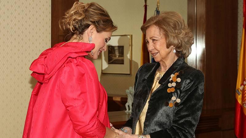 La reina Sofía apoya a la Fundación Luzón para recaudar fondos contra la ELA