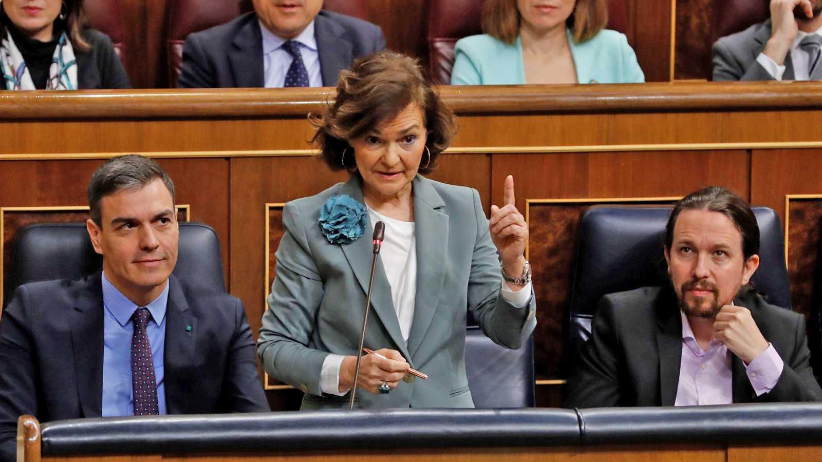 """Calvo exige al PP que no convierta en """"rehenes"""" a los órganos institucionales y le pide negociar su renovación"""