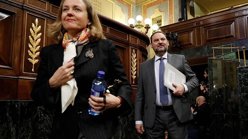 """Casado acusa a Sánchez de """"bloquear la verdad"""" sobre la reunión de Ábalos y Delcy Rodríguez: """"Hay indificios de delito"""""""