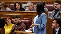"""Arrimadas critica los """"dedazos"""" del Gobierno y Sánchez le echa en cara la caída de Cs y sus pactos con el PP y Vox"""