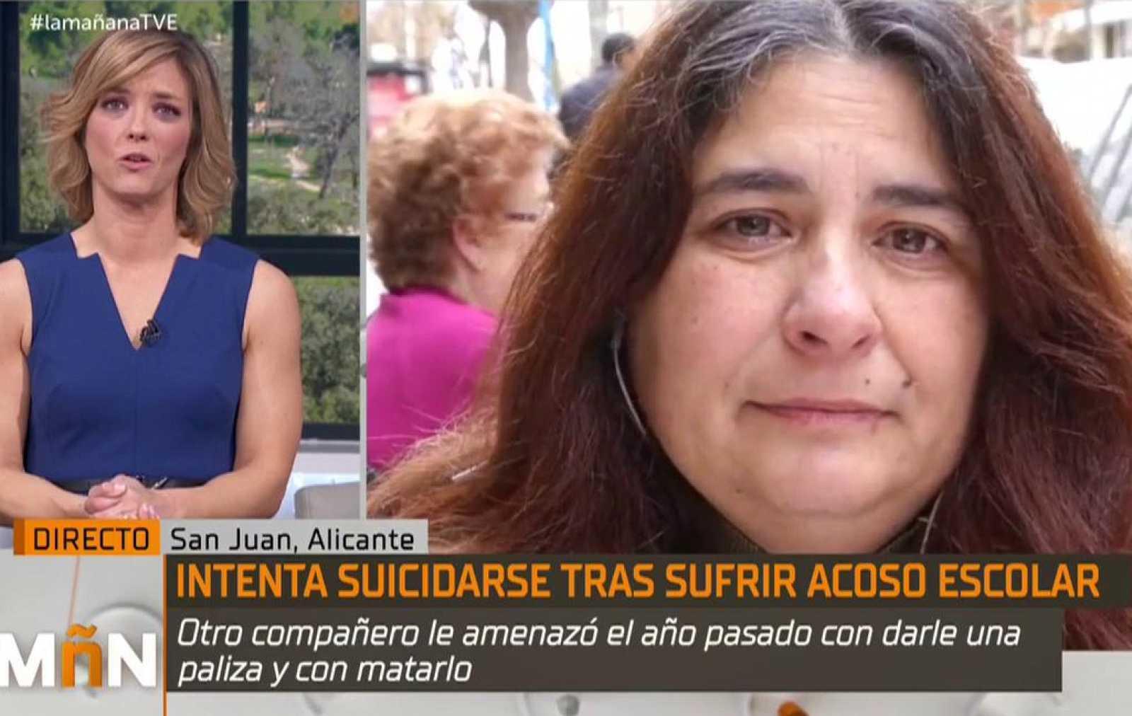 La Mañana - El menor que intentó suicidarse por acoso, había sido amenazado ese mismo día