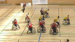 Baloncesto en silla de ruedas - Liga nacional. Resumen - 19/02/20