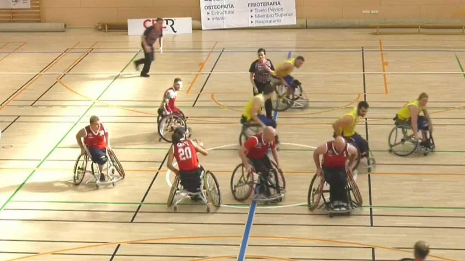 Baloncesto en silla de ruedas - Liga nacional. Resumen - 19/02/20 - ver ahora