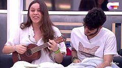 OT 2020 - Eva canta su primera composición ante Mala Rodríguez