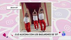Corazón - Jennifer López alucina con los bailarines de Operación Triunfo