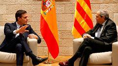Mesa de diálogo en Cataluña: Torra reprocha a Sánchez haber pactado la fecha sin contar con JxCat