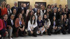 """El """"histórico"""" convenio del fútbol femenino, presentado en el Congreso"""