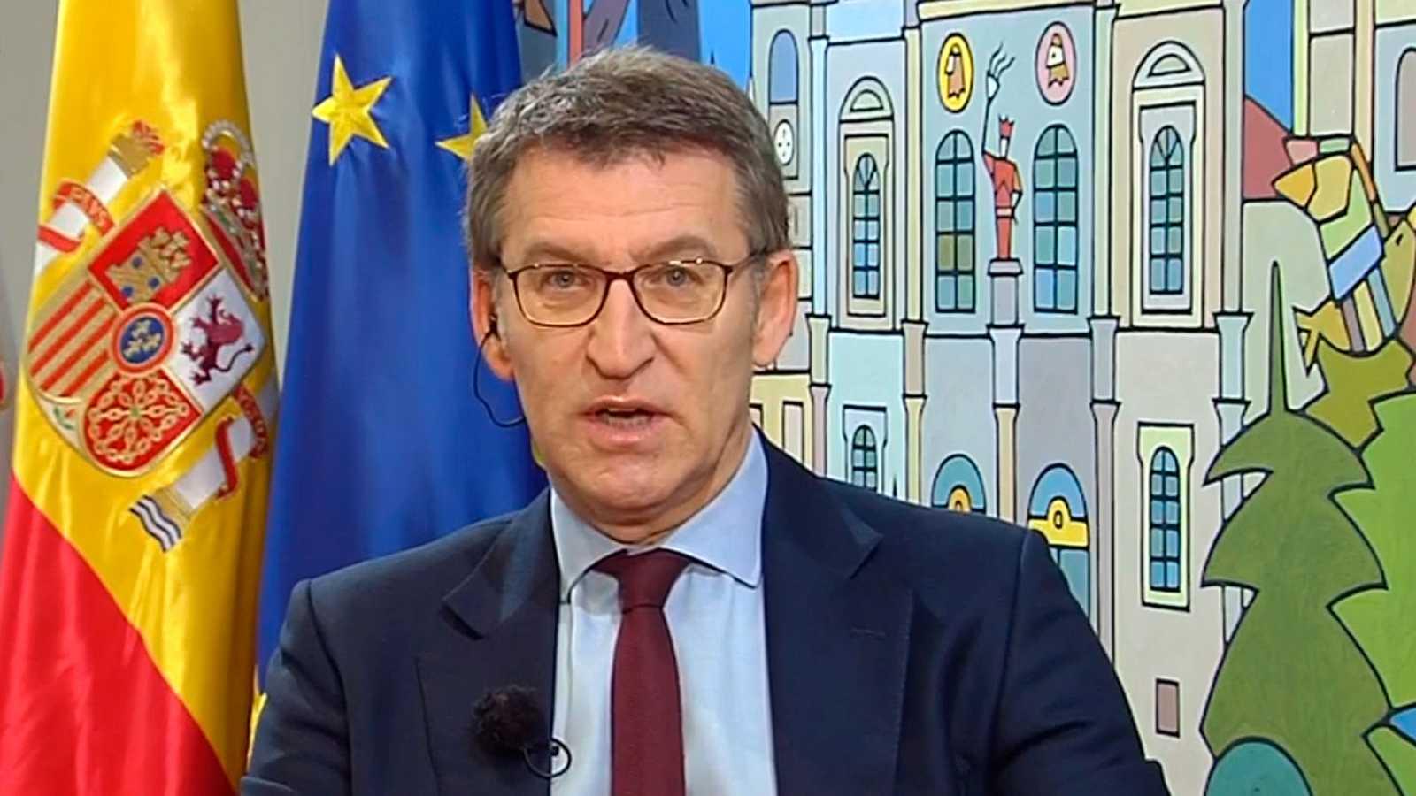 """Feijóo justifica su 'no' a Cs: """"Si Arrimadas hubiera sido presidenta de la Generalitat tres legislaturas respondería de la misma forma"""""""