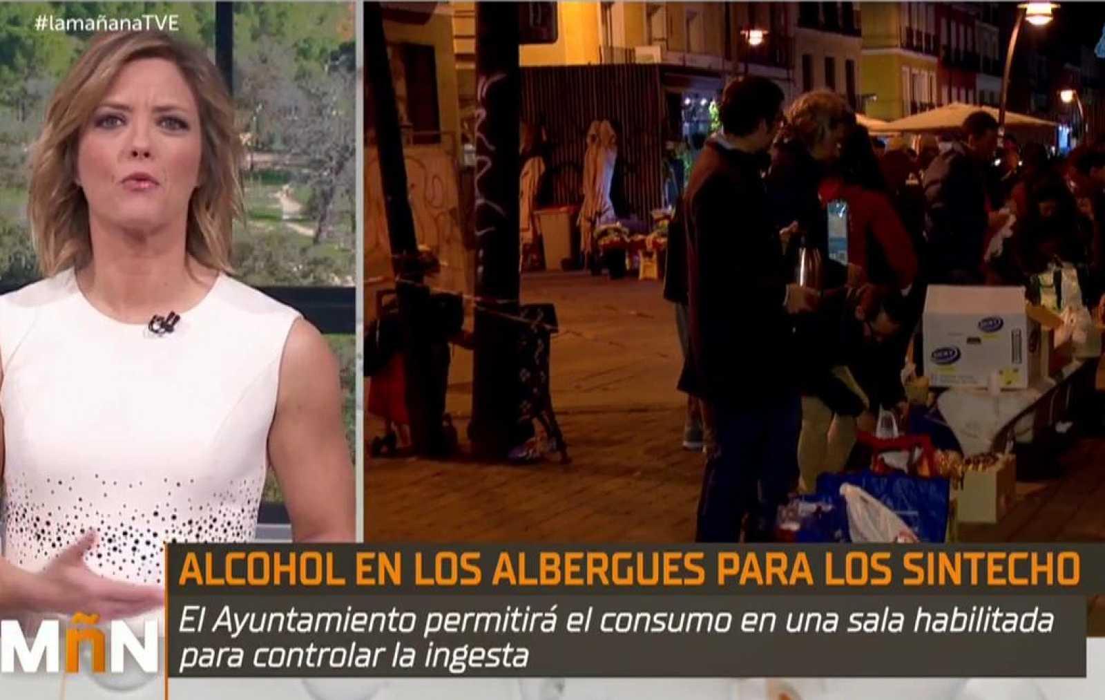 La Mañana - Alcohol en los Albergues: La Comunidad de Madrid habilitará un lugar controlado donde las personas sin hogar puedan beber