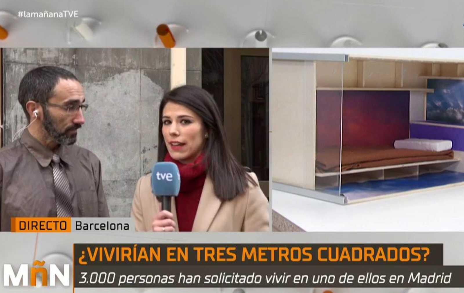 La Mañana - Pisos colmena: la empresa Haibu 4.0 reta al Ayuntamiento de Madrid con 480 cubículos en San Cristobal