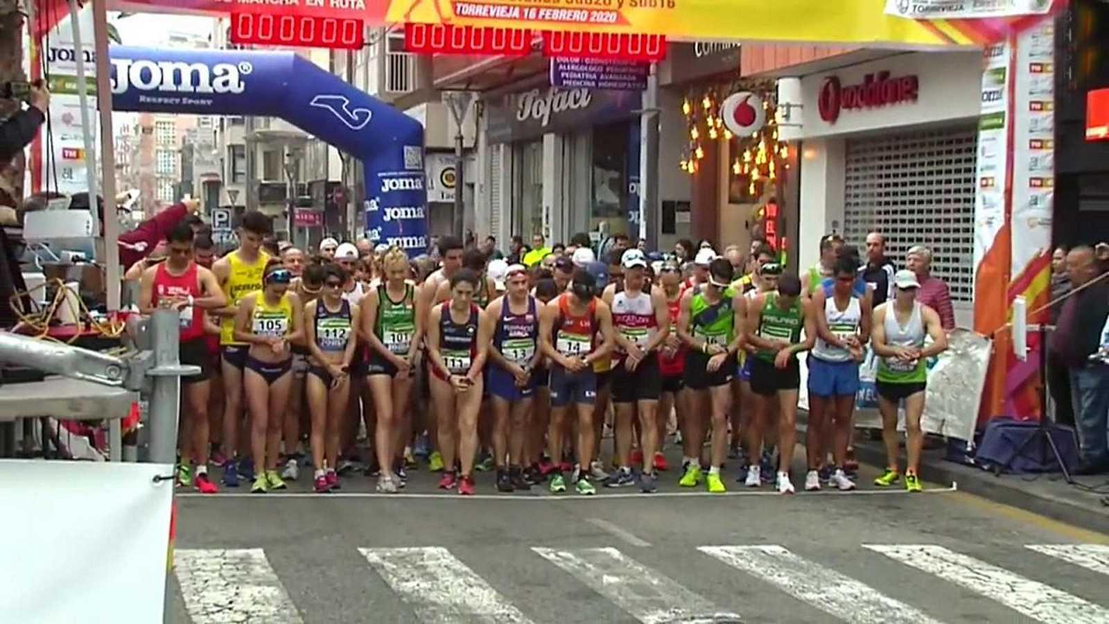 Atletismo - Campeonato de España Marcha 50 Km. Resumen - ver ahora