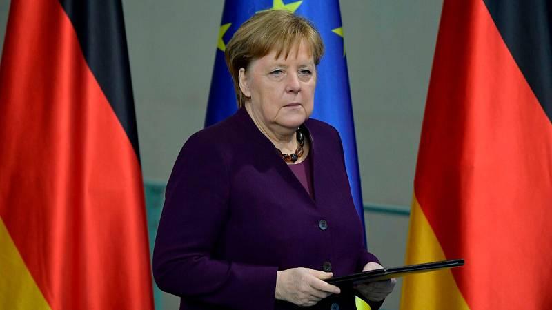 """Alemania: Merkel condena el atentado xenófobo de Hanau: """"El racismo es veneno"""""""