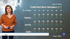 El Tiempo en Andalucía - 20/02/2020