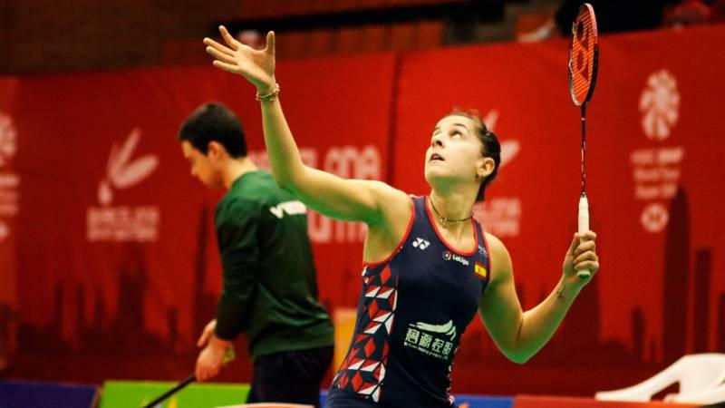 """Carolina Marín: """"Necesito puntos para el ranking mundial y me alegra mucho estar aquí"""""""