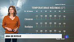 El tiempo en Extremadura - 20/02/20