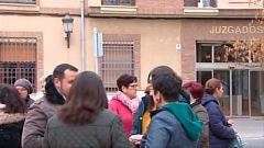 Movilización en Toledo por la tutela de dos huérfanos por violencia machista